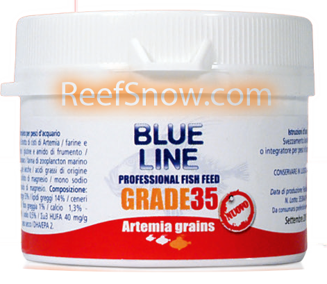 Blue Line Artemia Grains GRADE 35 - 30 g