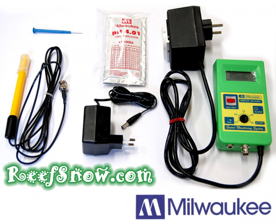 Milwaukee SMS122 Controllore pH/CO2 con sonda ed elettrovalvola